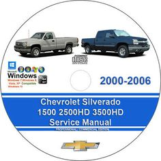 Advertisement Ebay Chevrolet Silverado 1500 2500hd 3500hd 2000 2001 2002 2003 2006 Service Ma In 2020 Chevrolet Silverado Chevrolet Colorado Chevrolet Silverado 1500