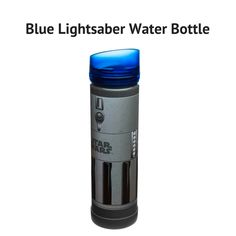 Blue Lightsaber Water Bottle