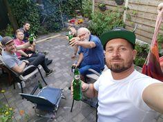 Gezellig team BBQ van Indusigns in Zwolle.