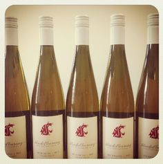 """The WSU viticulture and enology program has released it's first student-produced wine under the apt label """"Blended Learning!"""" The Riesling is the first in a series and a sign of great things to come."""