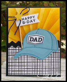 Special Birthday Cards, Kids Birthday Cards, Dad Birthday, Birthday Party Favors, Masculine Birthday Cards, Masculine Cards, Card Tutorials, Design Tutorials, Happy Bday Dad