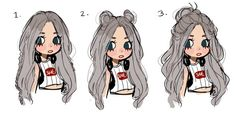 How To Paint People Animation 49 Ideas Chibi Manga, Art Pastel, Art Tutorials, Drawing Tutorials, Hair Sketch, Image Manga, Dibujos Cute, Chef D Oeuvre, Fan Art
