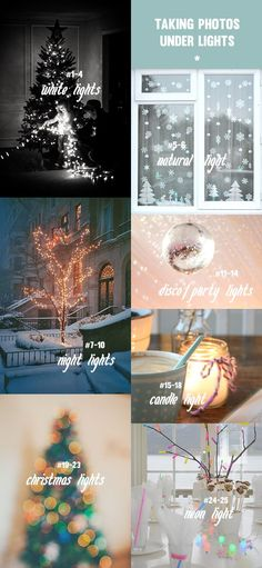 Tis' the season for parties, twinkling white lights, disco balls, and snap… snap… snap… photos everywhere! Make sure the photos you take, and the ones you are in this season, come out looking splendid and bright; no matter the condition of the lights that might be shinning on you. Here are 25 simple tricks for...Read More