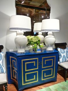 Turn your tired furniture into this show stopping piece with Amy Howard Furniture lacquers.