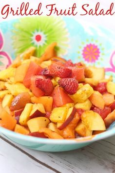 easy grilled fruit s