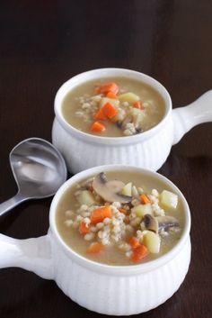 Polish Vegetable Barley Soup Recipe (Krupnik Polski)   All About Cuisines