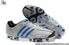 Buy Latest Listing Adidas Adipure 11Pro TRX FG Running White-Bright Blue-Black Soccer Boots Store