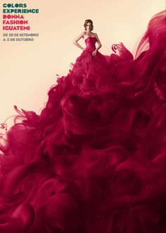 Pink at it's best (Colors Experience by Studios Meca, via Behance)