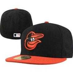 6e172ea61f3 Baltimore Orioles New Era MLB Youth Alternate 59Fifty Hat (Black) New Era  59fifty