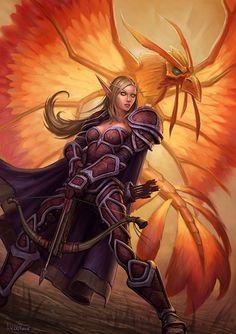World of Warcraft - Elfa de sangre - Cazadora