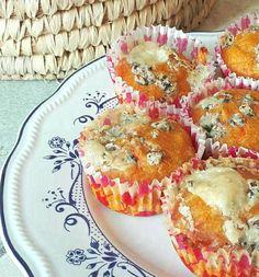 Muffin salati di Zucca con cuore di Fomaggi