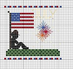 Crafts By Starlight: 4th Of July Miniature