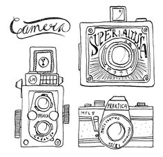#5. Vintage Cameras. by Annemarie Gorissen