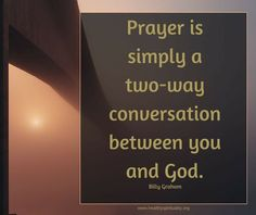 Prayer Ponderings