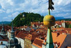 Schlossberg Graz, © Graz Tourismus/Hans Wiesenhofer Graz Austria, Escapade, Heart Of Europe, Central Europe, Capital City, Alps, Cn Tower, Vienna, Places Ive Been