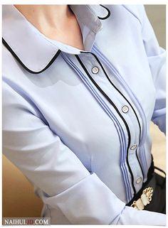 Las mujeres de la Pajarita Blusa de Moda 2016 Primavera de Manga Larga de Gasa blusa Tops Estilo Coreano Oficina Mujer Camisas de la colmena Elegante Diseño en Blusas y Camisas de Moda y Complementos Mujer en AliExpress.com | Alibaba Group