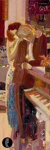 """Musical Romance,"" [Musical Trio Suite] -- by Mahmood Sabzi"