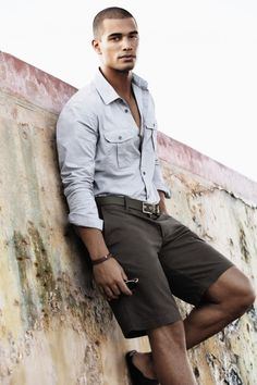 Men's summer style | Nathan Owens- Pressed and Perfect!
