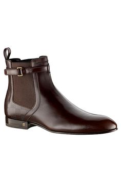 Louis Vuitton Men's Boot 2010 Fall - Louis Vuitton Equinox Ankle Boot Suede Calf Leather Shoe sold for € 555.00 in 2010