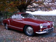 The 1966 Volkswagen Karmann Ghia. A wonderful example of a truly fun car. And one heck of a roadtrip!