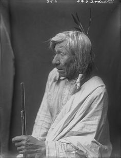 Blackfoot (Siksika), name unknown, 1900.