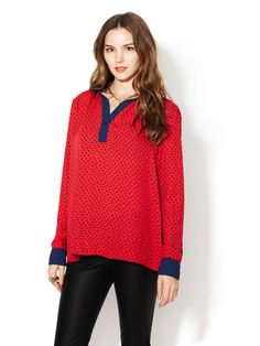 Tiny Horse Print Top by Free People on Gilt.com