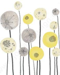 Idea for applique flowers