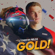 Connor Fields wins #GOLD in #BMX for Team USA!   #Rio2016