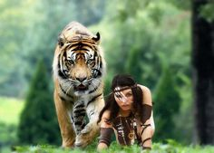 Wildlife and the Wild Woman are both endangered species. Potnia Theron, Amazonian Warrior, Psy Art, Sacred Feminine, Divine Feminine, Endangered Species, Big Cats, Spirit Animal, Beauty And The Beast