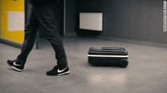 Travelmate Robotics created a motorized autonomous suitcase that may make your airport travel easier.