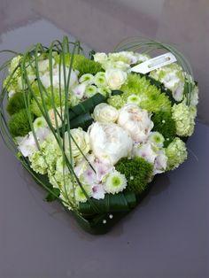 Funeral Flower Arrangements, Funeral Flowers, Floral Arrangements, Contemporary Flower Arrangements, Flower Shop Design, Funeral Tributes, Cemetery Flowers, Flower Images, Flower Wallpaper