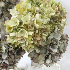 70 best artificial flowers hydrangea images on pinterest silk single hydrangea stem in green 19 mightylinksfo