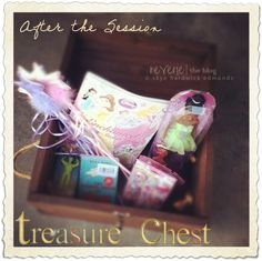 """The """"after-the-session"""" treasure chest .... kids love it, and photographers too! On the Reverie Blog ....♥"""