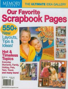 Our Favorite Scrapbook Pages, Memory Makers