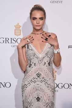 Cara delevingne at the de Grisogono 'Fatale In Cannes' party during the 67th Cannes Film Festival in Cap d'Antibes, France - 20/05/14