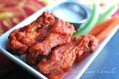 buffalo wings- use kroger buffalo wing hot sauce instead of frank's if you like hot buffalo wings