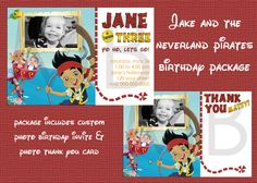 Jake And The Neverland Pirates Birthday by mommybrain2designs, $17.99