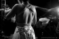 Detalhe das costas - vestido de noiva diferente