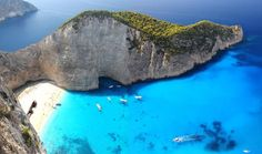 Zakynthos Island, Greece Zakynthos is a Greek island in the Ionian Sea. It is the third largest of the Ionian Islands. Amazing Destinations, Holiday Destinations, Travel Destinations, Greece Destinations, Holiday Places, Travel Trip, Travel Info, Travel News, Budget Travel