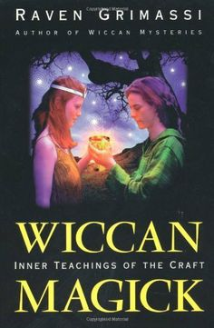 Wiccan Magick: Inner Teachings of the Craft by Raven Grimassi. $10.38. Author: Raven Grimassi. 260 pages. Publisher: Llewellyn Publications; 1st edition (September 8, 2002) http://www.amazon.com/gp/product/B0027Y1K2E/ref=as_li_qf_sp_asin_il_tl?ie=UTF8&camp=1789&creative=9325&creativeASIN=B0027Y1K2E&linkCode=as2&tag=charlycheer-20&linkId=VIQICWRYXYBZ3GGO
