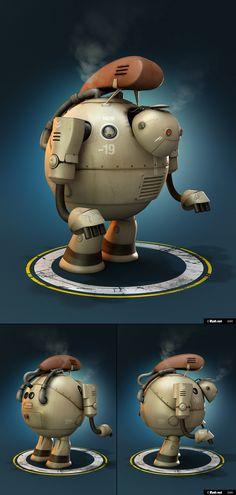 Worker Robot by Hossein Afzali