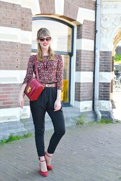 Rebellious yet Romantic - Outfit - We will stroll downtown - Bershka H&M &OtherStories Mango