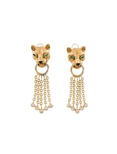 Cartier Panther Earrings.