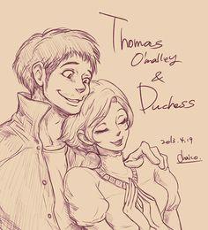 Humanized Disney Characters (Thomas O'Mally and Duchess from the Aristocats) Disney Pixar, Walt Disney, Disney Nerd, Disney Fan Art, Cute Disney, Disney Girls, Disney And Dreamworks, Disney Stuff, Disneyland