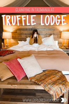 Unplug for a weekend with the ultimate glamping in Tasmania at Truffle Lodge an incredible luxury stay only an hour out of Hobart. Brisbane, Melbourne, Sydney, Beautiful Places To Travel, Beautiful Hotels, Amazing Hotels, Weekender, Glamping, Tasmania Travel