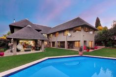5 bedroom house for sale in Paulshof - Family home. Property for sale in Gauteng, Sandton, Paulshof 5 Bedroom House, Property For Sale, Home And Family, Homes, Mansions, House Styles, Outdoor Decor, Home Decor, Houses