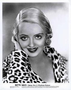 I would have loved to meet Bette Davis. She is my favorite of all the old Hollywood movie stars.