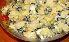 Ako nemate vremena da spremate ručak mi preporučujemo ovu orijentalnu salatu za brzu pripremu. Salata od krompira, jaja i maslina zameniće bilo koji obrok u toku dana a vama će ostaviti prostor za odmor. Sastojci: 1, 5kg krompira 6 jaja 250 gr maslina kašikica senfa so i bibe Appetizer Salads, Appetizers, Serbian Recipes, Serbian Food, Torte Cake, Fondant Tutorial, Cooking Recipes, Healthy Recipes, Creative Food