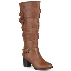 54c7fc21b1509 Journee Collection Kay Women s Strappy Tall Boots
