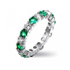 Purchase Alternating Two Tone Cubic Zirconia Stackable CZ Eternity Ring For Women Teen 925 Sterling Silver 12 Birth Month Colors from Bling Jewelry Inc on OpenSky. Share and compare all Jewelry. Sapphire Jewelry, Blue Sapphire Rings, Bling Jewelry, Wedding Jewelry, Wedding Rings, Jewellery, White Sapphire, Jewelry Rings, Blue Diamonds